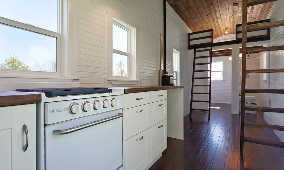 Kitchen - Loft Edition by Mint Tiny Homes