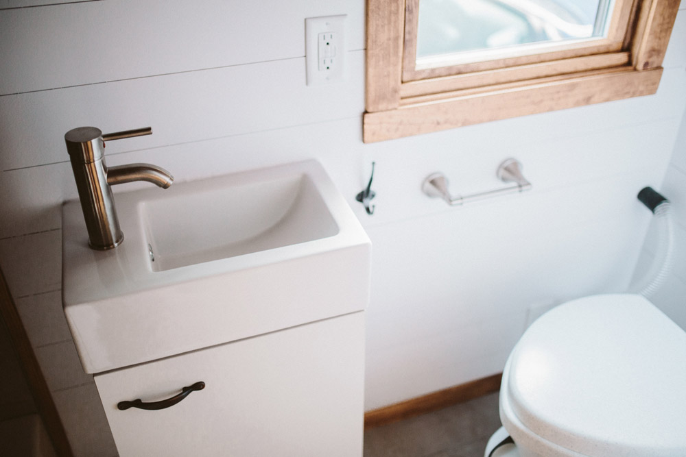 Bathroom - Mayflower by Wind River Tiny Homes