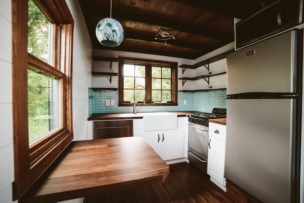 Kitchen - Mayflower by Wind River Tiny Homes