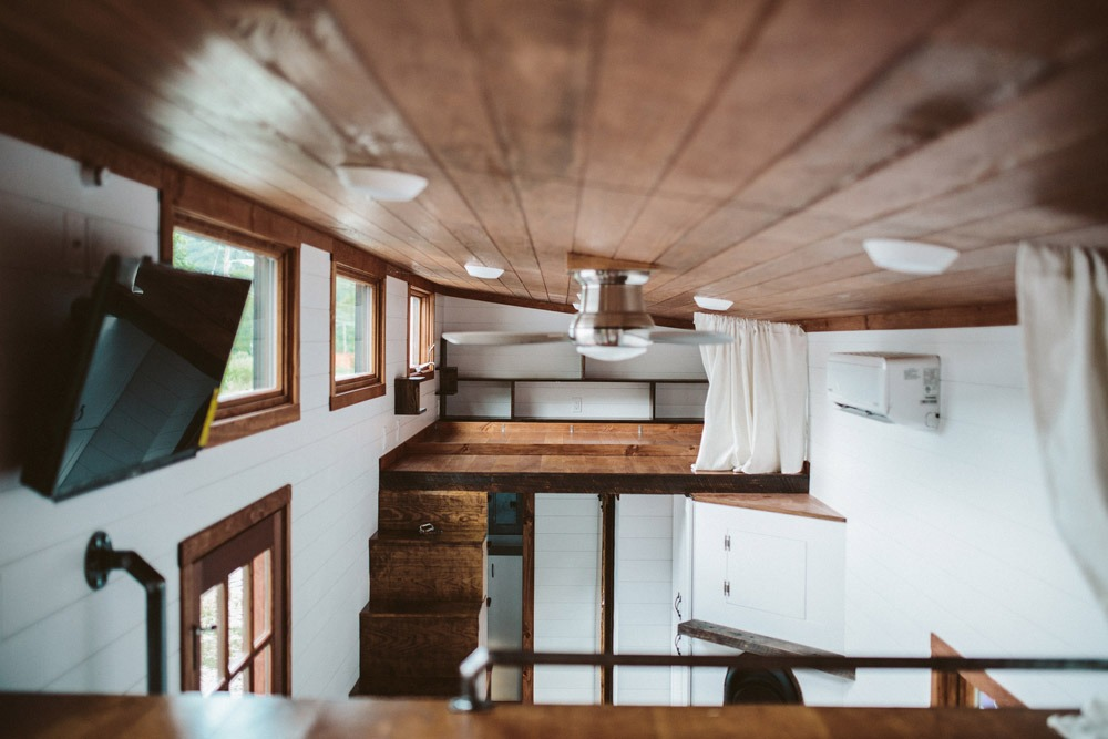Bedroom Loft - Mayflower by Wind River Tiny Homes