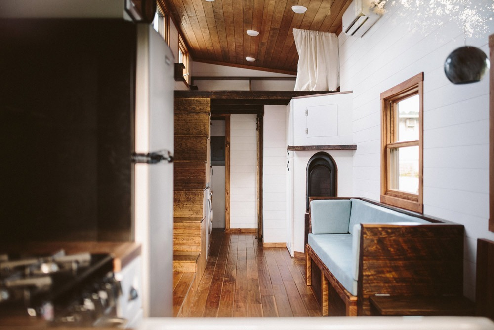 Interior View - Mayflower by Wind River Tiny Homes