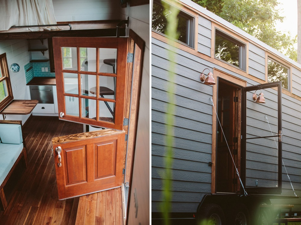 Entry - Mayflower by Wind River Tiny Homes