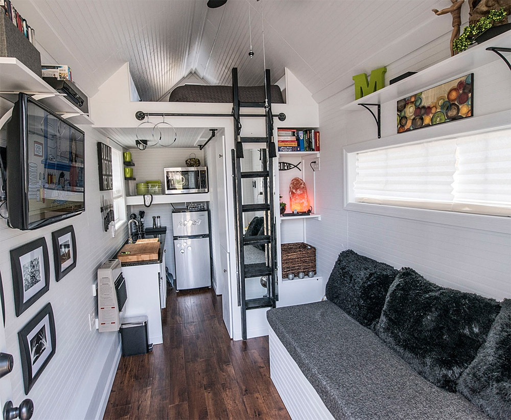 View From Entry - Mendy's Shoebox by Tiny Happy Homes