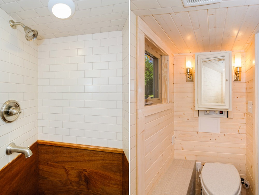 Bathroom - MH by Wishbone Tiny Homes