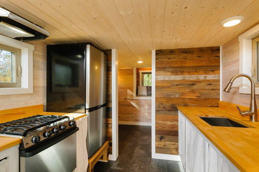 Kitchen - MH by Wishbone Tiny Homes