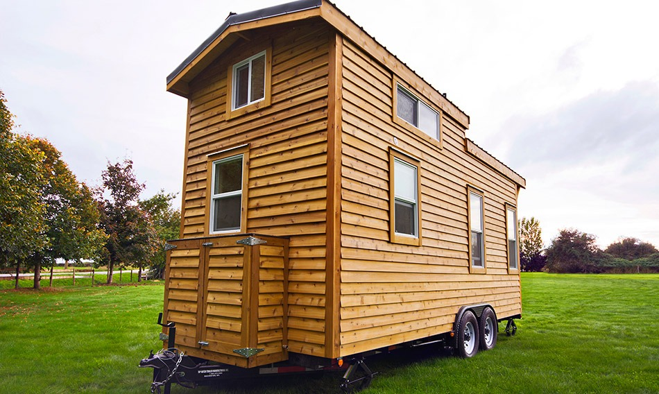 Exterior Side View - Napa Edition by Mint Tiny Homes