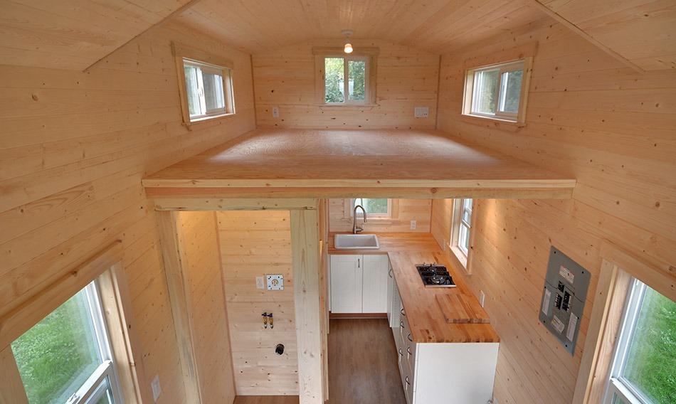 Aerial View - Napa Edition by Mint Tiny Homes