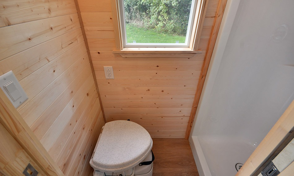 Bathroom - Napa Edition by Mint Tiny Homes