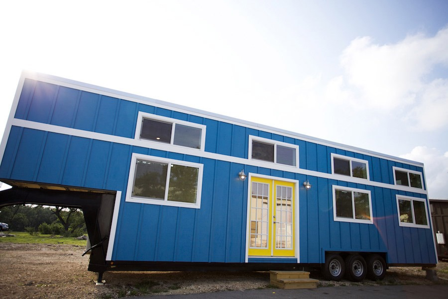 Custom Gooseneck by Nomad Tiny Homes