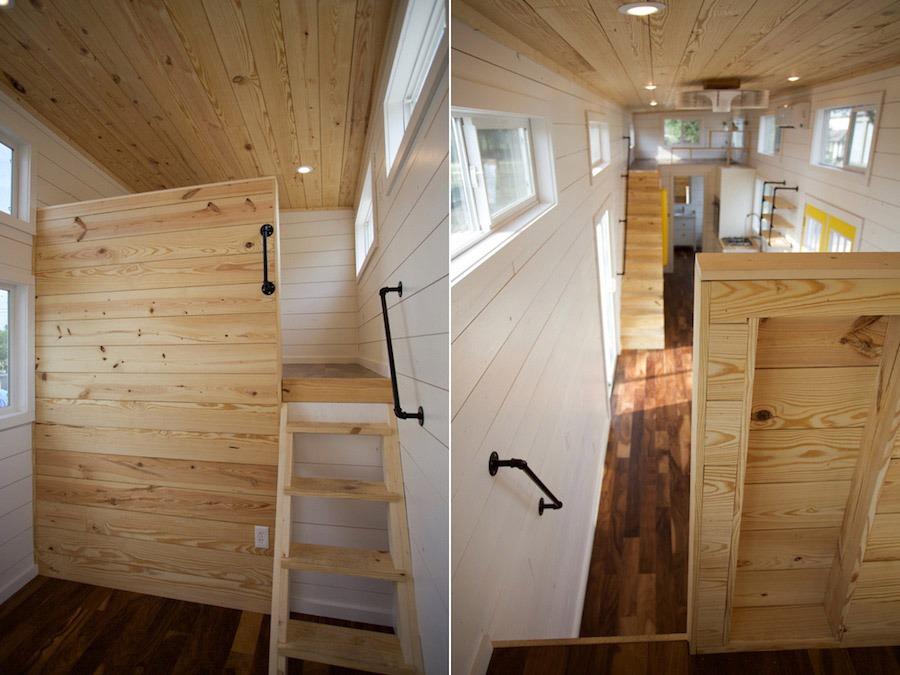 Loft - Custom Gooseneck by Nomad Tiny Homes