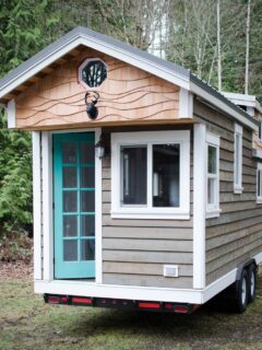 Tiny House on Wheels by Rewild Homes