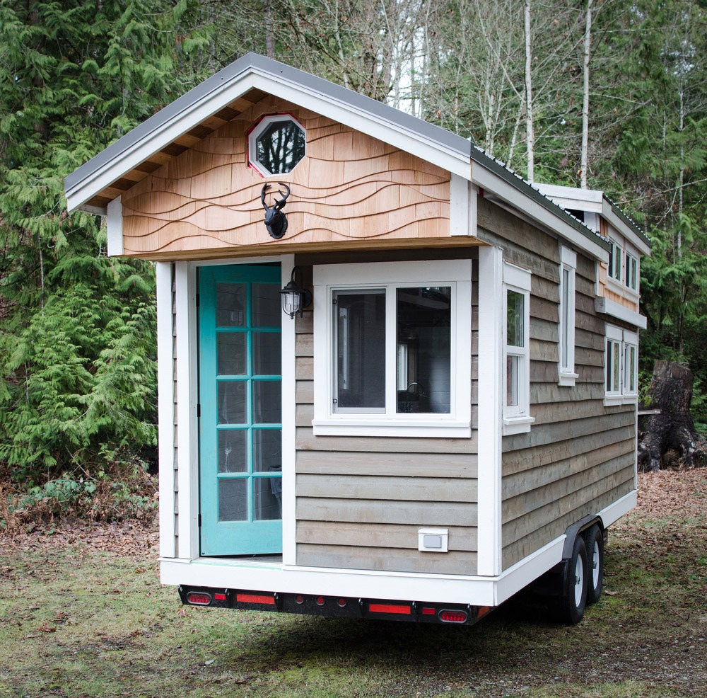 rewild tiny house on wheels tiny living. Black Bedroom Furniture Sets. Home Design Ideas