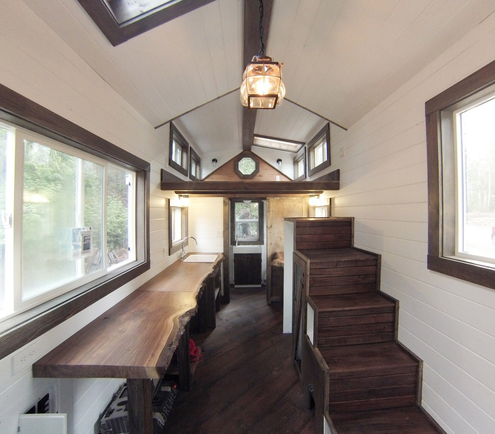 Rewild tiny house on wheels tiny living - Interior design of small houses ...