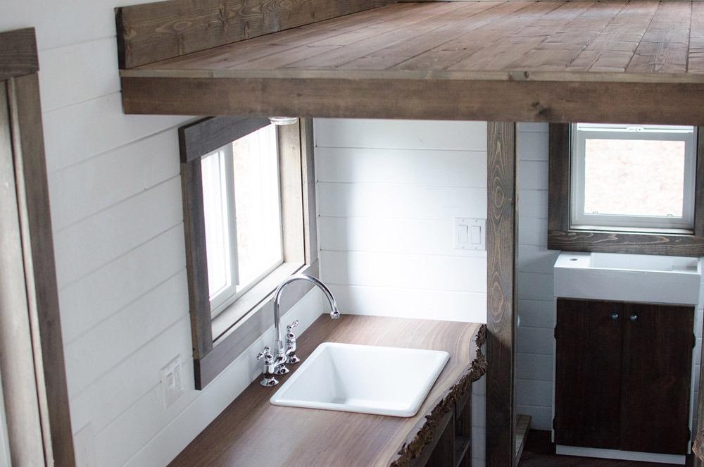 Kitchen Sink - Rewild Tiny House on Wheels