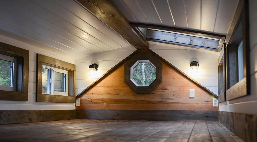 Bedroom Loft - Rewild Tiny House on Wheels