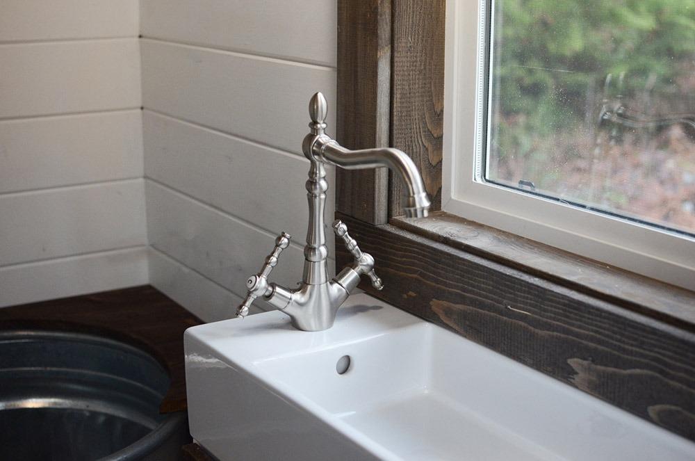 Bathroom Sink - Rewild Tiny House on Wheels