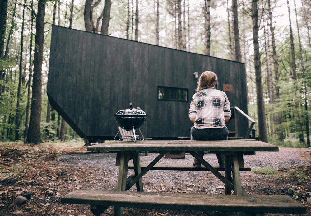 Exterior w/ Picnic Table - Salvatore by Getaway.House
