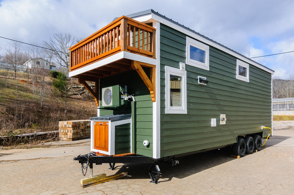 Exterior Side View - Sheriff by Wishbone Tiny Homes