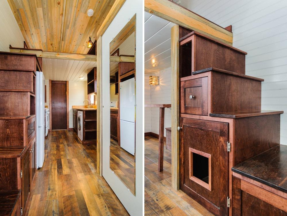 Storage Stairs - Sheriff by Wishbone Tiny Homes