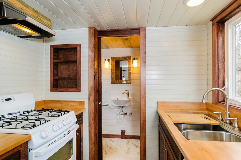 Kitchen and Bathroom - Sheriff by Wishbone Tiny Homes