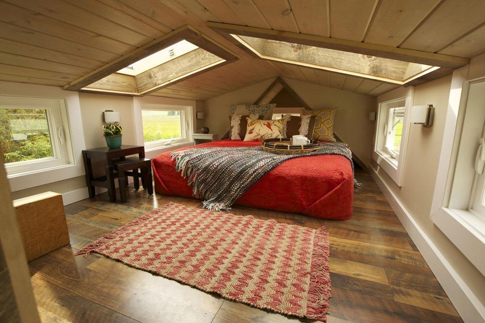 Bedroom Loft - Watertown by Wishbone Tiny Homes