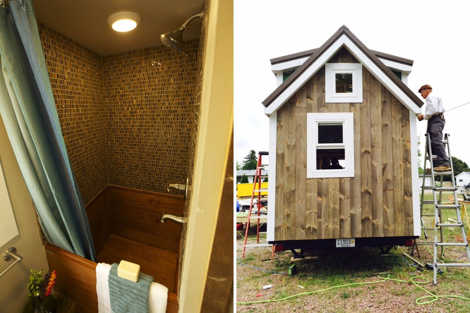 Bathroom / Exterior - Watertown by Wishbone Tiny Homes
