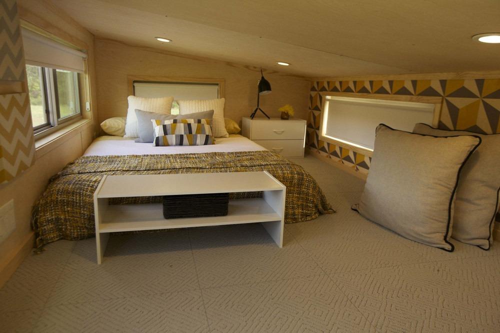 Bedroom Loft - Kitchen - Z-Huis by Wishbone Tiny Homes