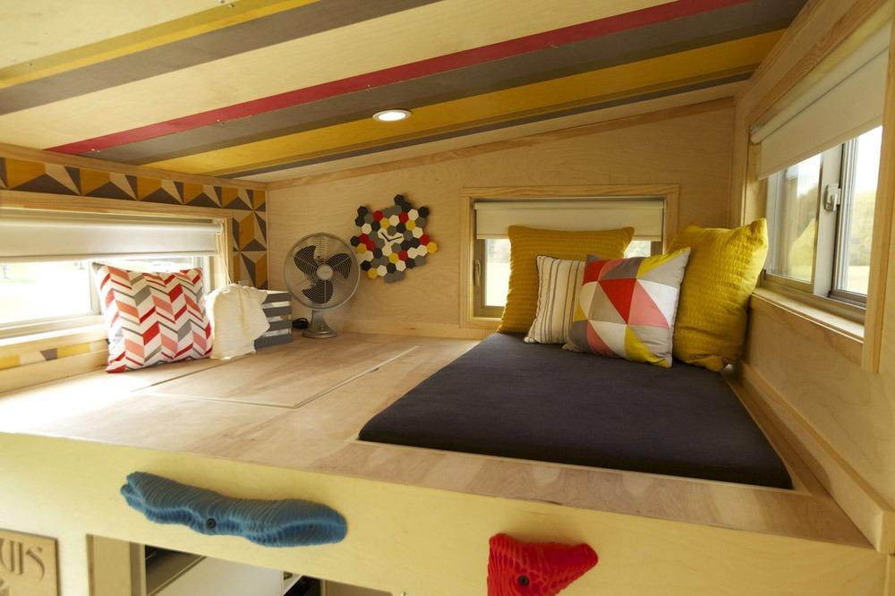 Storage Loft - Kitchen - Z-Huis by Wishbone Tiny Homes