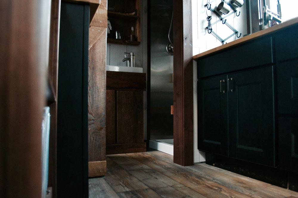 Hardwood floors and trim throughout - Aerodynamic by Tiny Heirloom