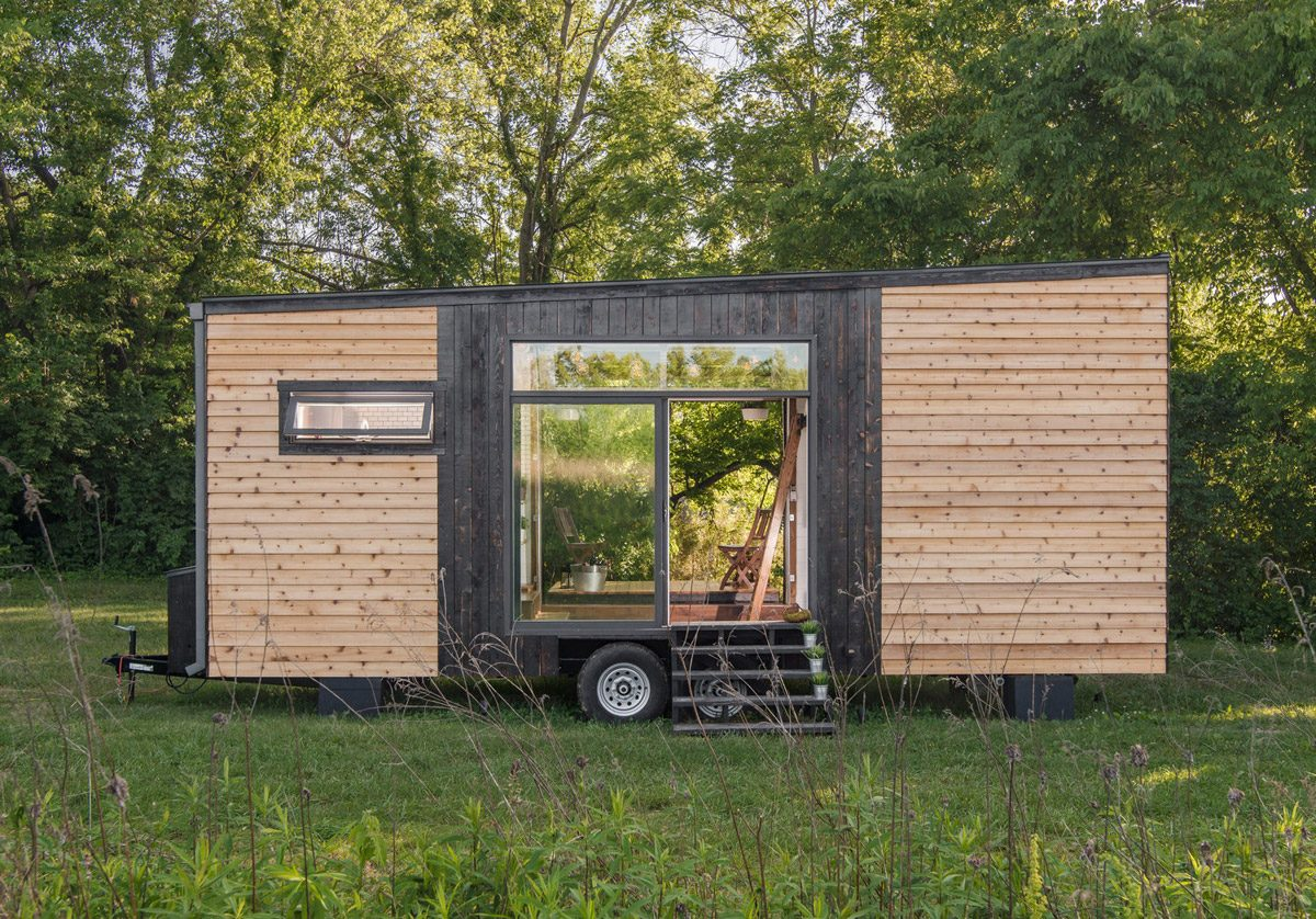 Exterior - Alpha by New Frontier Tiny Homes