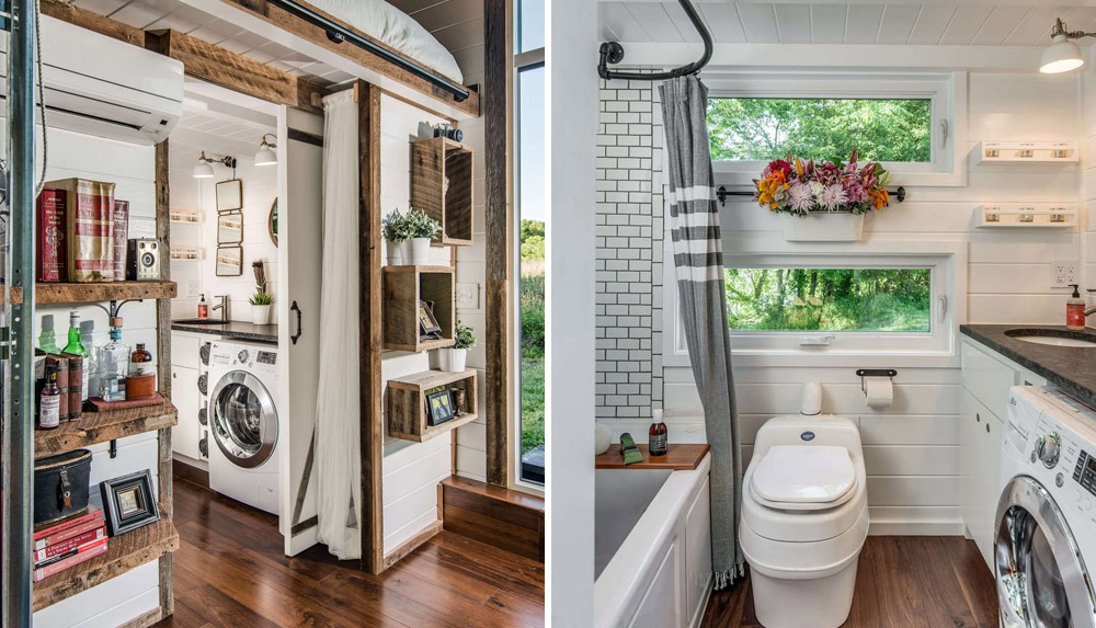 Bathroom 1 - Alpha by New Frontier Tiny Homes