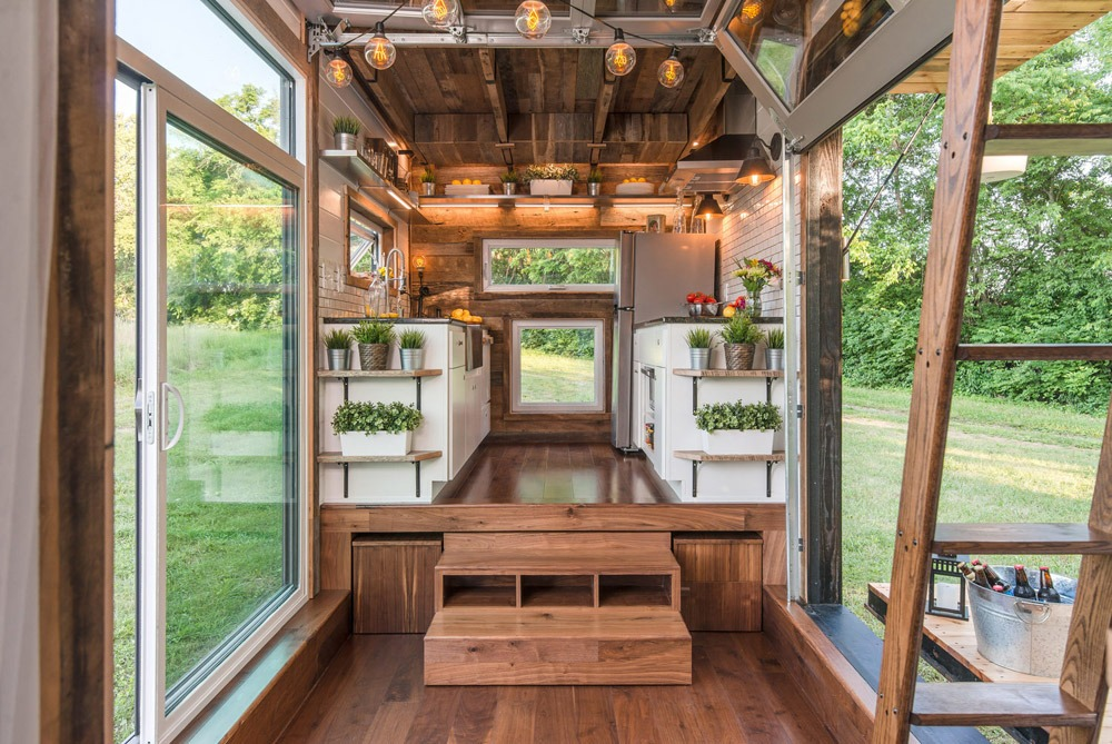 Interior View - Alpha by New Frontier Tiny Homes