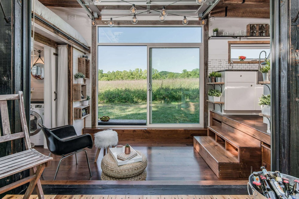 Living Room 1 - Alpha by New Frontier Tiny Homes