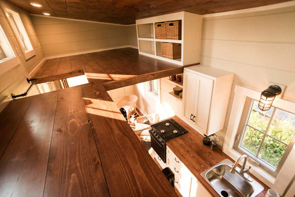 Loft Areas - Boxcar by Timbercraft Tiny Homes