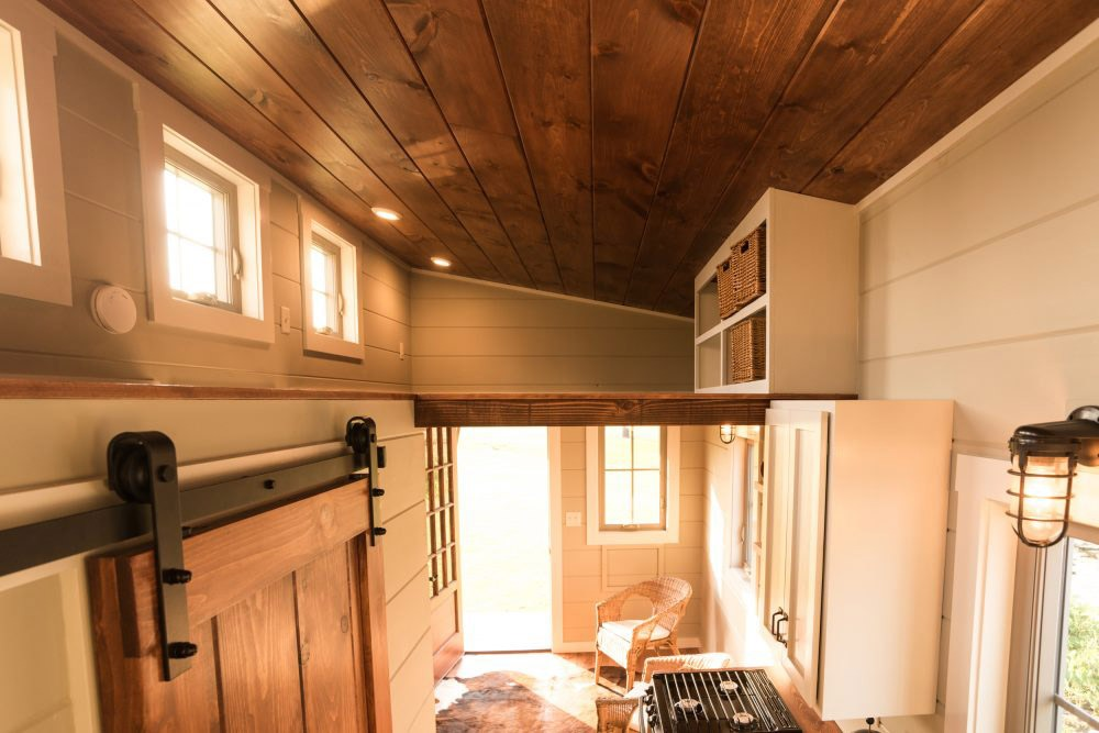 Interior View - Boxcar by Timbercraft Tiny Homes