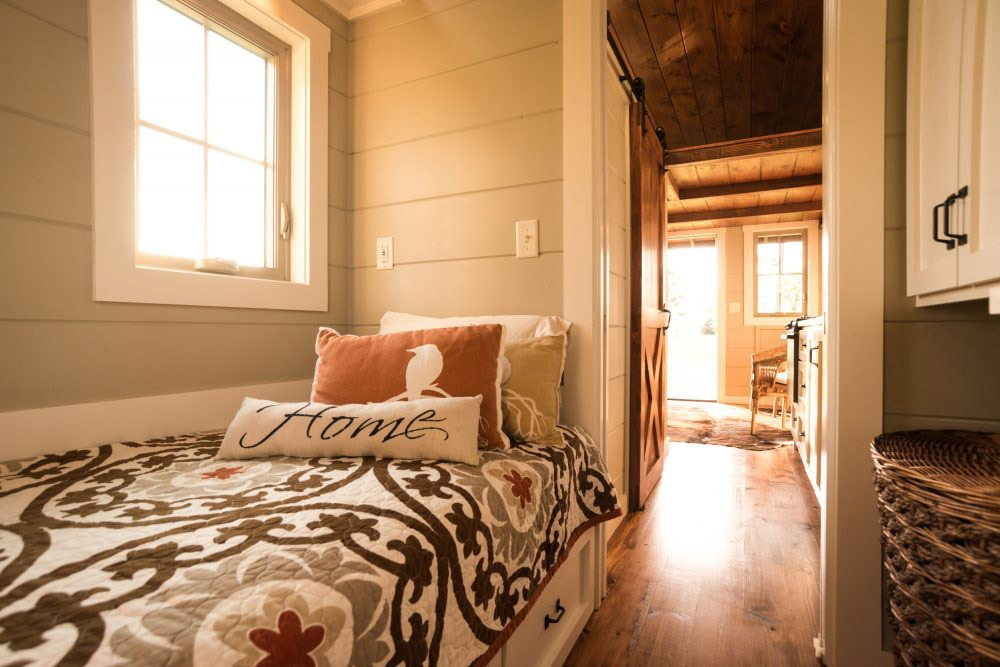 Bedroom View - Boxcar by Timbercraft Tiny Homes