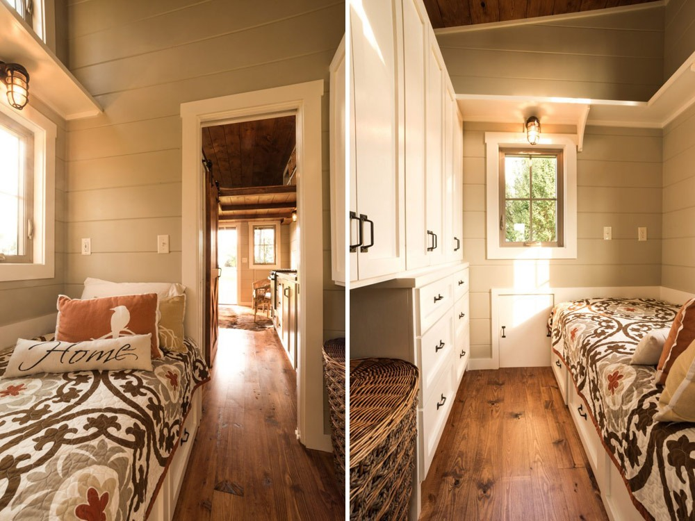 Bedroom - Boxcar by Timbercraft Tiny Homes