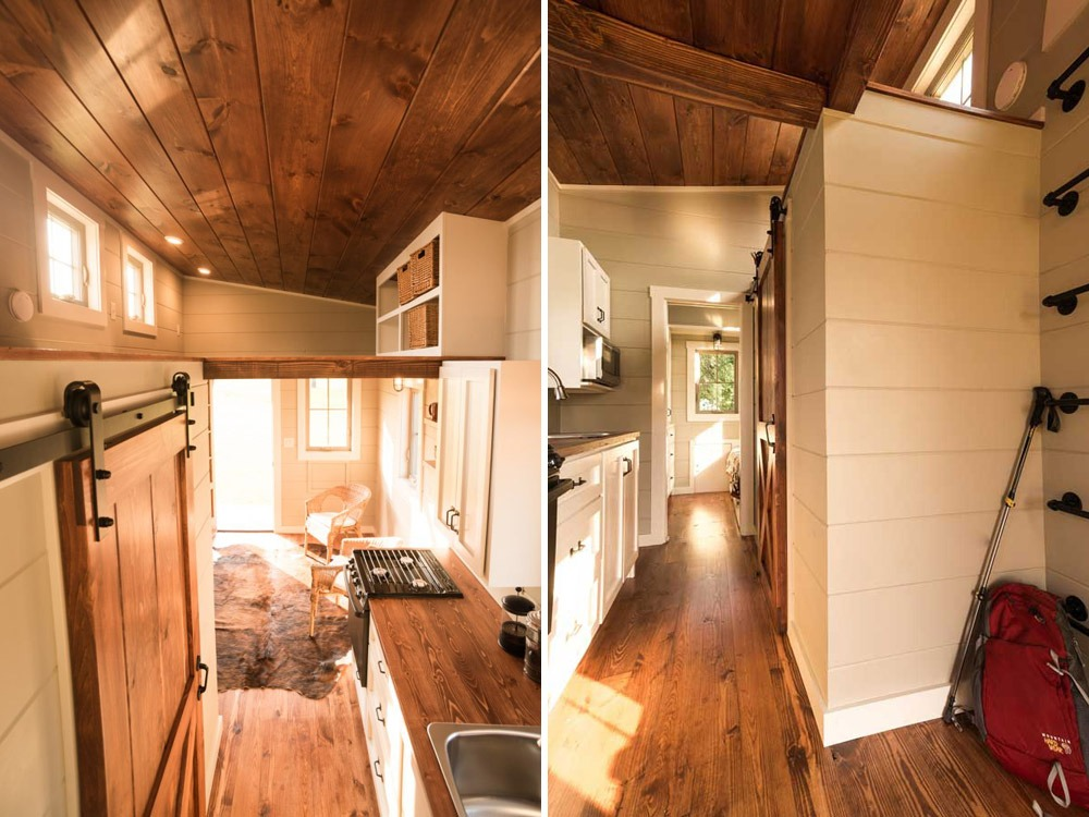 Interior Views - Boxcar by Timbercraft Tiny Homes