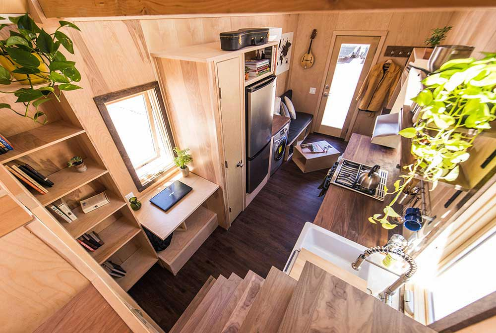 Spacious and functional interior - Farallon by Tumbleweed Tiny House Company