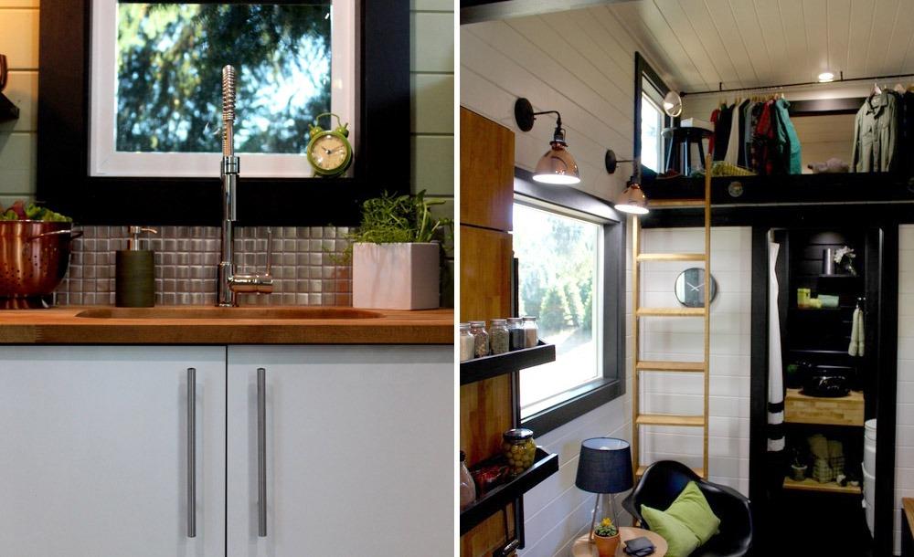 Kitchen Sink and Loft Ladder - Modern by Tiny Heirloom