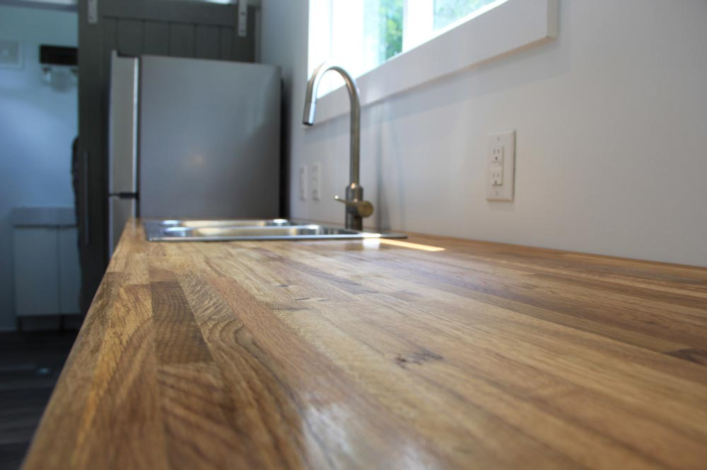 Butcher block counter - Every Tiny Moment by Brevard Tiny House