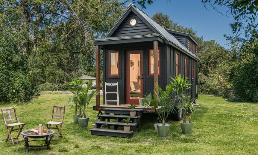 Exterior View - Riverside by New Frontier Tiny Homes