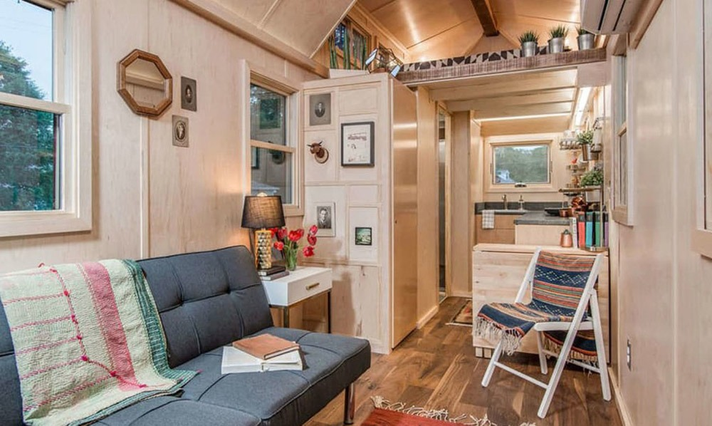 Interior View - Riverside by New Frontier Tiny Homes