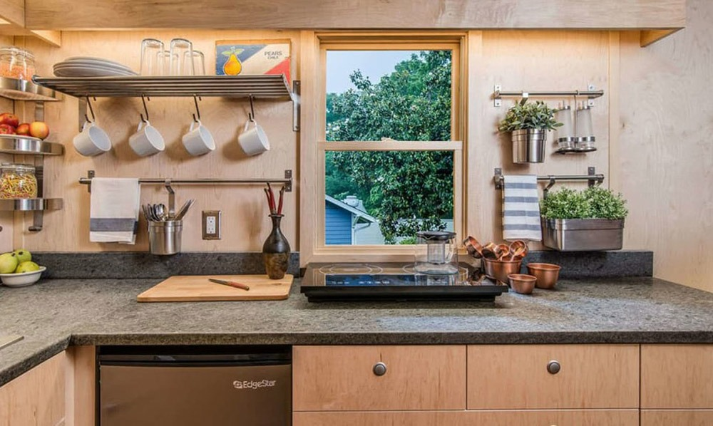 Kitchen - Riverside by New Frontier Tiny Homes