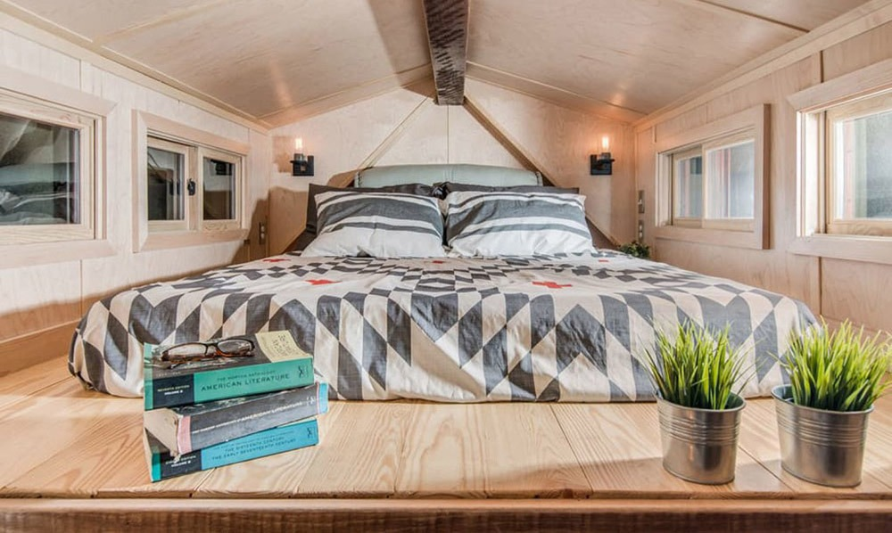 Bedroom Loft - Riverside by New Frontier Tiny Homes