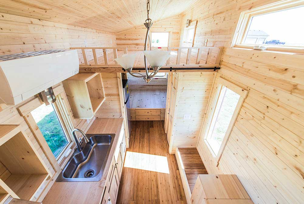 plenty of natural light roanoke by tumbleweed tiny house