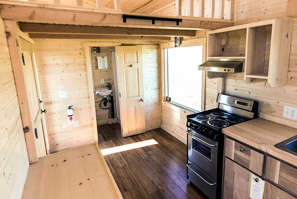beautiful wood flooring roanoke by tumbleweed tiny house - Tumbleweed Tiny House Interior
