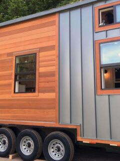 Wood and Metal Siding - Rocky Mountain by Tiny Heirloom