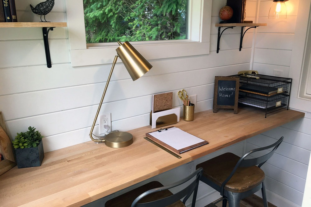 Desk, Home Office Area - Rocky Mountain by Tiny Heirloom