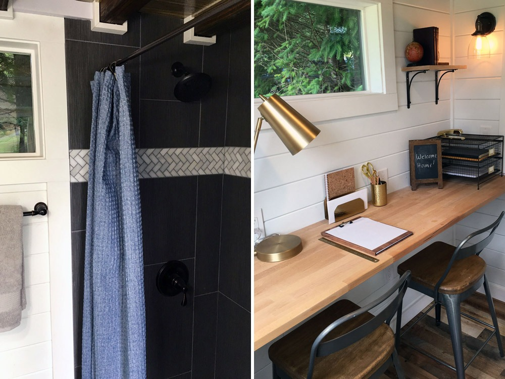 Shower and Desk - Rocky Mountain by Tiny Heirloom